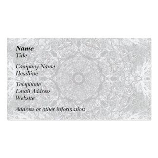 Modelo decorativo elegante tarjetas personales