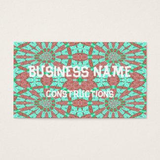 Modelo decorativo tarjeta de negocios