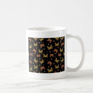 Modelo del adorno de los insectos taza de café