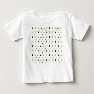 Modelo del aguacate camiseta de bebé
