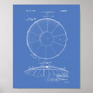 Modelo del arte de la patente de la bola 1923 del