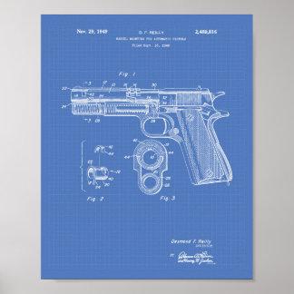 Modelo del arte de la patente de las pistolas