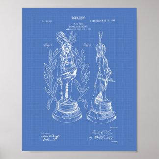 Modelo del arte de la patente del ornamento 1903