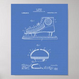 Modelo del arte de la patente del zapato 1914 del