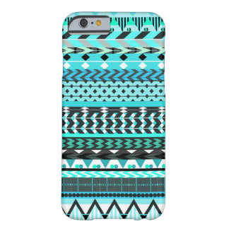 Modelo del Azteca de la aguamarina Funda De iPhone 6 Barely There