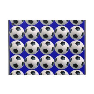 Modelo del balón de fútbol iPad mini cobertura