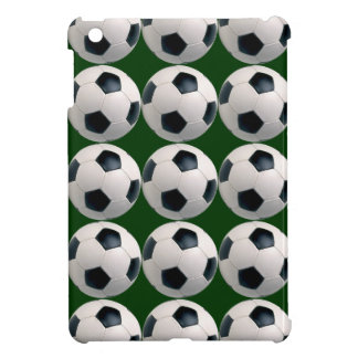 Modelo del balón de fútbol iPad mini protectores