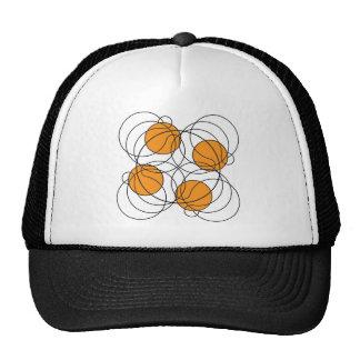 Modelo del baloncesto 4 - 3D Gorros Bordados