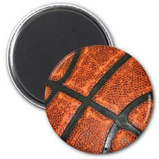 Modelo del baloncesto imán redondo 5 cm