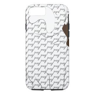 Modelo del barro amasado de Brown Funda iPhone 7