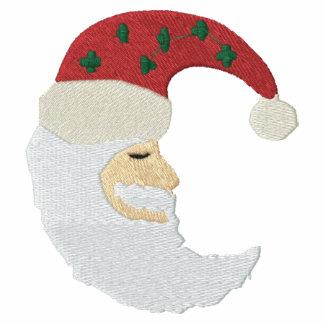 Modelo del bordado de la luna de Papá Noel