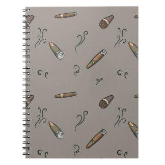 Modelo del cigarro cuaderno