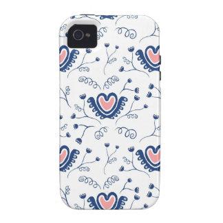 """""""Modelo del corazón """" iPhone 4 Funda"""
