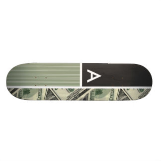 Modelo del dinero Verde Monopatín