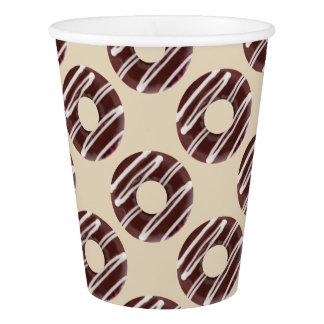 Modelo del diseño de los buñuelos de la diversión vaso de papel