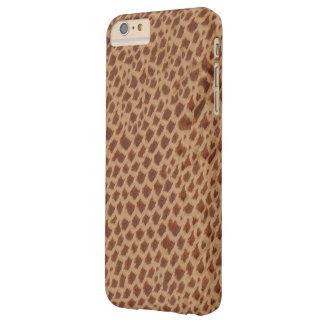 Modelo del estampado de animales de la jirafa - funda barely there iPhone 6 plus