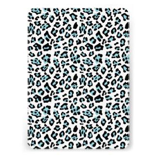 Modelo del estampado de animales del leopardo del