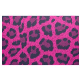 Modelo del estampado leopardo de las rosas fuertes telas