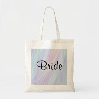 Modelo del estilo del Seashell El Wedding Bolsas Lienzo