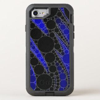 Modelo del extracto del negro azul funda OtterBox defender para iPhone 8/7