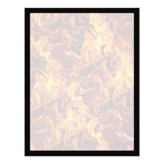 Modelo del fuego y de la llama folleto 21,6 x 28 cm