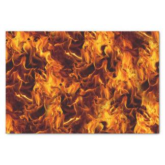 Modelo del fuego y de la llama papel de seda