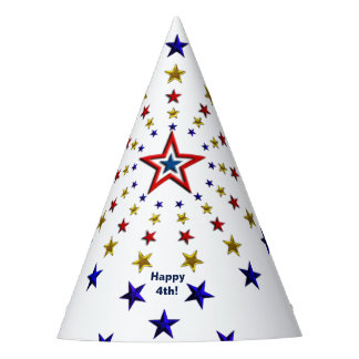 Modelo del gorra patriótico del fiesta de las gorro de fiesta