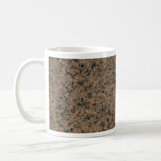 Modelo del granito taza