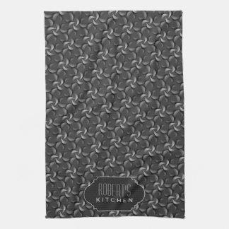 Modelo del gris de plata: Paño de té conocido de e Toallas De Mano