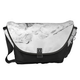Modelo del hielo #3 bolsas de mensajería