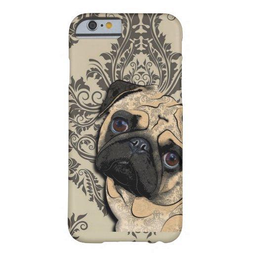 Modelo del mascota del extracto del perro del funda de iPhone 6 barely there