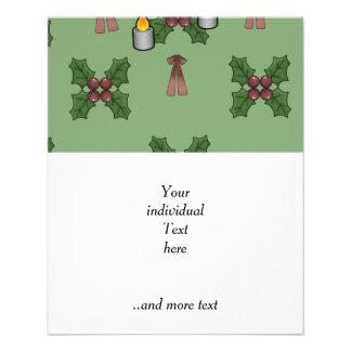modelo del navidad tarjeta publicitaria