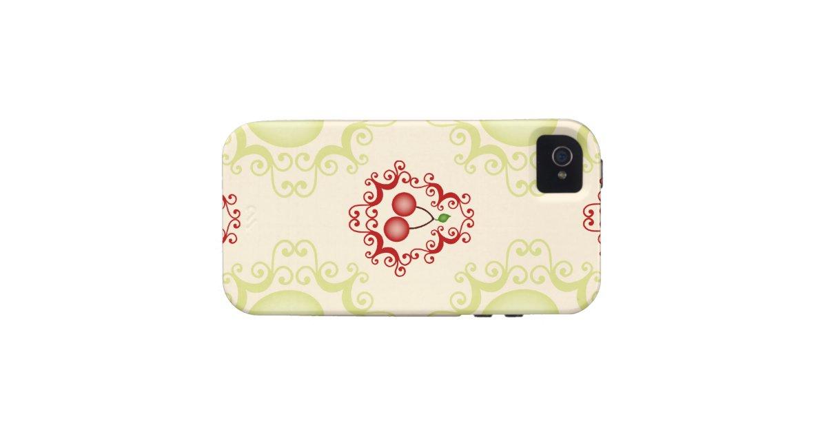 Modelo del papel pintado de las cerezas de la iphone 4 4s for Modelos de papel pintado