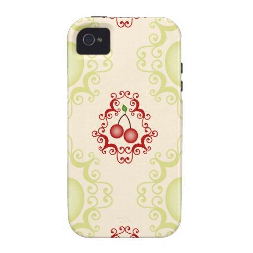 Modelo del papel pintado de las cerezas de la iphone 4 4s - Modelos de papel pintado ...