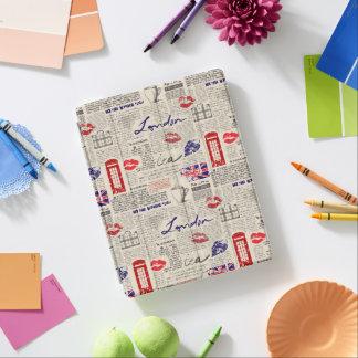 Modelo del periódico de Londres Cover De iPad