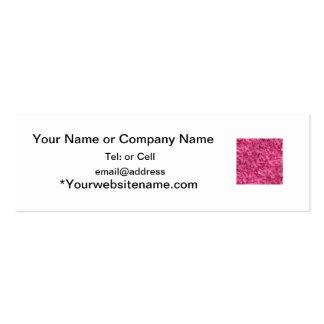 Modelo del remolino del color de las rosas fuertes tarjetas de visita mini