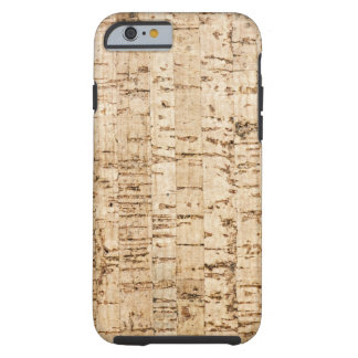 Modelo del roble de corcho funda para iPhone 6 tough