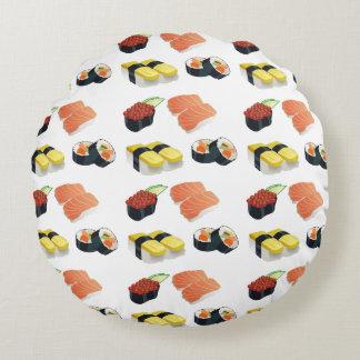 Modelo del sushi cojín redondo