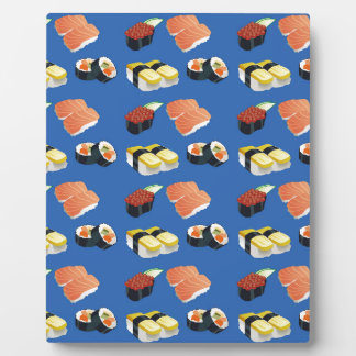 Modelo del sushi placa expositora