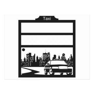 modelo del taxi postal