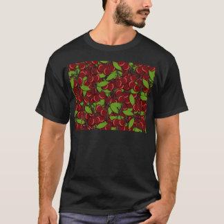 Modelo del verano - cerezas camiseta