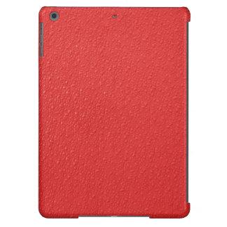 Modelo desigual rojo funda iPad air