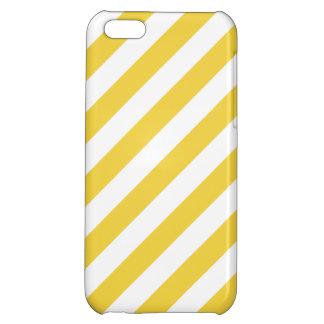 Modelo diagonal amarillo y blanco de las rayas