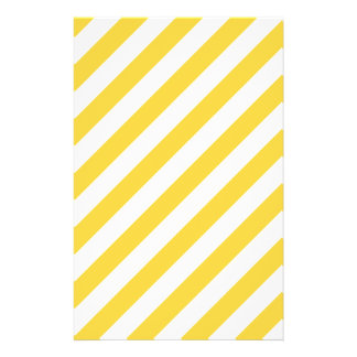 Modelo diagonal amarillo y blanco de las rayas flyer