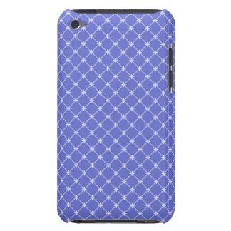 Modelo diagonal azul barely there iPod carcasas