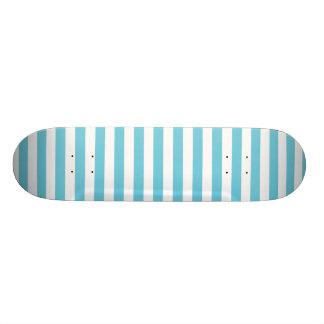 Modelo diagonal azul y blanco de las rayas monopatines personalizados