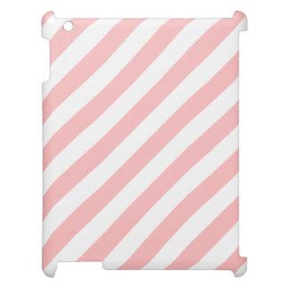 Modelo diagonal del rosa y blanco de las rayas