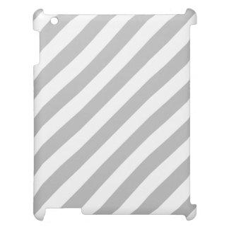 Modelo diagonal gris y blanco de las rayas