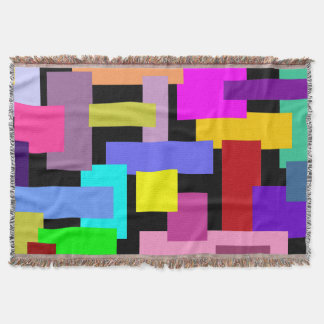 MODELO DIVERTIDO DE LOS RECTÁNGULOS + su color de Manta