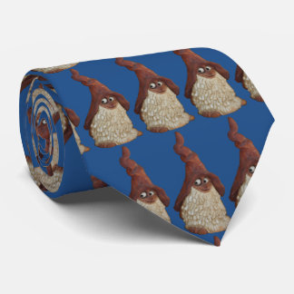 Modelo divertido del gnomo corbata